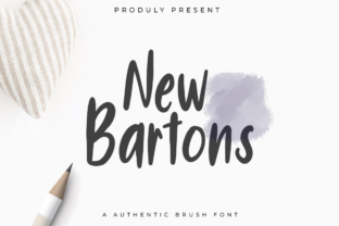 New Bartons Font By indotitas