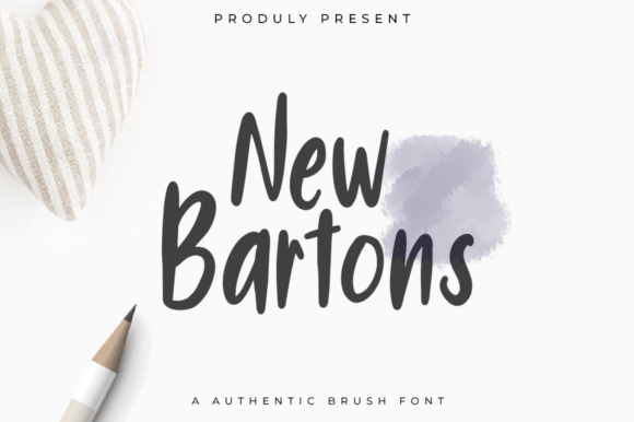 Print on Demand: New Bartons Sans Serif Font By indotitas