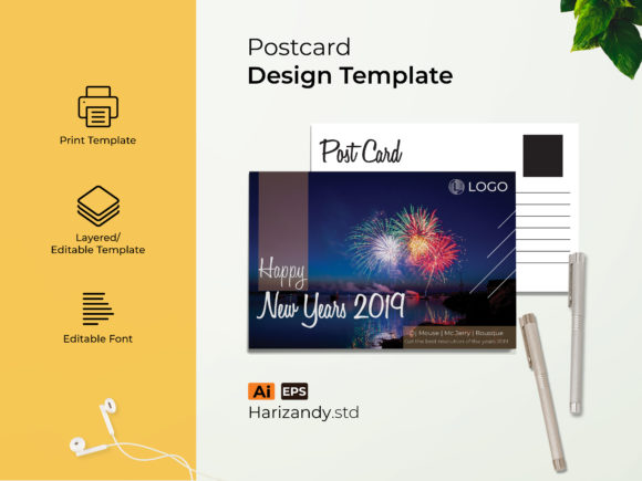 Newyears Event Graphic Print Templates By harizandy