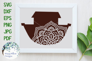 Download Free Noah S Ark Mandala Svg Graphic By Wispywillowdesigns Creative for Cricut Explore, Silhouette and other cutting machines.