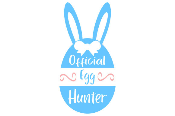 Download Free Official Egg Hunter Svg Cut File By Creative Fabrica Crafts for Cricut Explore, Silhouette and other cutting machines.