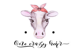 One Crazy Heifer Craft Design By Creative Fabrica Crafts