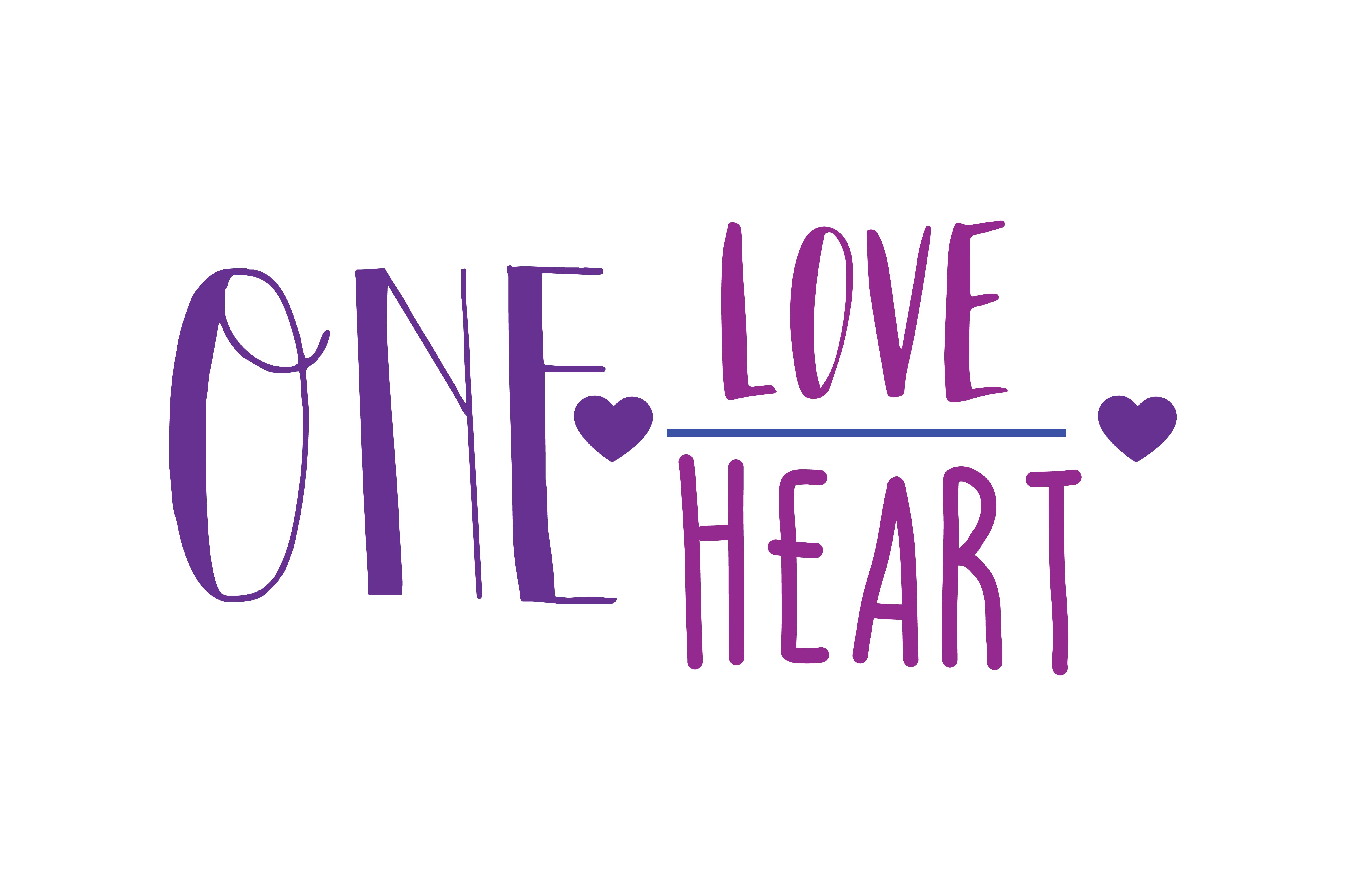 Download Free One Love One Heart Quote Svg Cut Graphic By Thelucky Creative SVG Cut Files