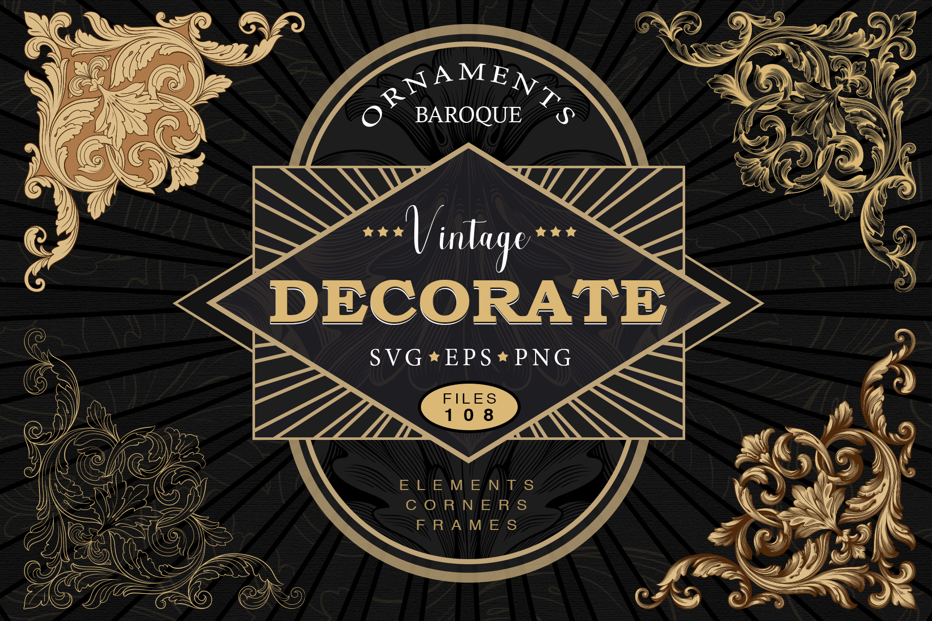 Download Free Page Decoration Ornate Vintage Graphic By Ornamentstock SVG Cut Files