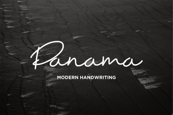 Print on Demand: Panama Script & Handwritten Font By Jimmy Indra
