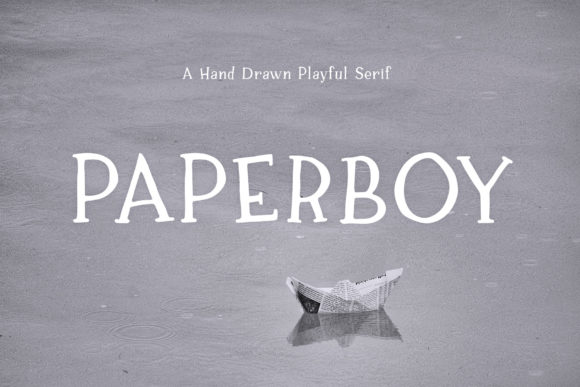 Paperboy Serif Font By Ayca Atalay