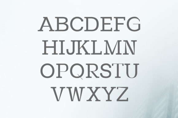 Print on Demand: Paulose Family Serif Font By Creative Tacos - Image 2