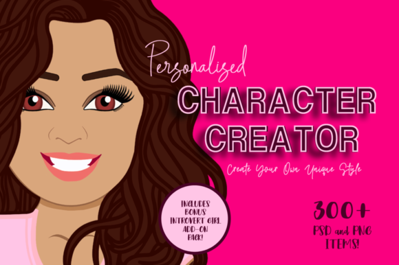 Personalised Character Creator Graphic Illustrations By Amanda Lee Graphics