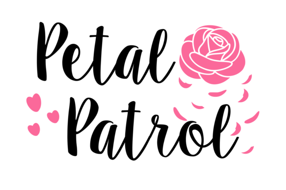 Print on Demand: Petal Patrol Digital SVG File Graphic Crafts By Auntie Inappropriate Designs