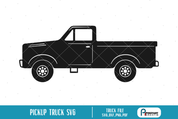 Download Free Pickup Truck Graphic By Pinoyartkreatib Creative Fabrica for Cricut Explore, Silhouette and other cutting machines.