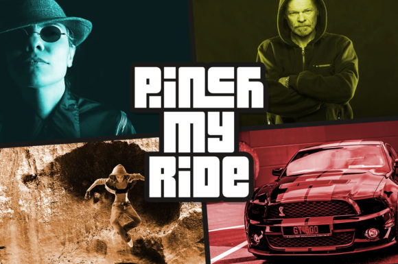 Pinch My Ride Display Font By Chequered Ink