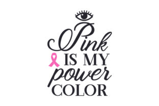 Pink is My Power Color Craft Design By Creative Fabrica Crafts