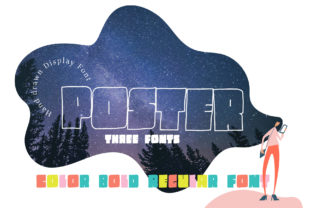 Poster Font By Happy Letters