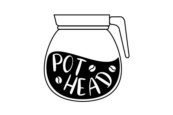 Download Free Pot Head Svg Cut File By Creative Fabrica Crafts Creative Fabrica for Cricut Explore, Silhouette and other cutting machines.