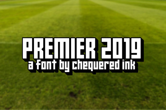 Print on Demand: Premier 2019 Display Font By Chequered Ink