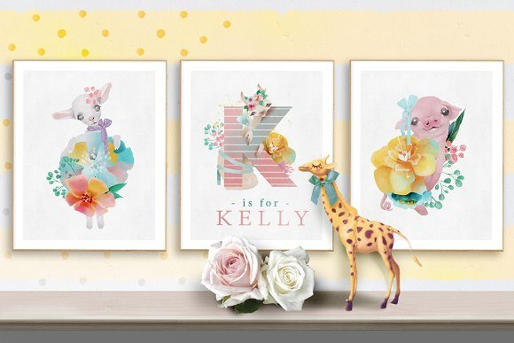 Print on Demand: Pretty Letters Graphic Illustrations By Anna Babich - Image 3