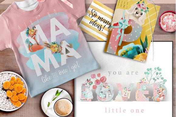 Print on Demand: Pretty Letters Graphic Illustrations By Anna Babich - Image 4