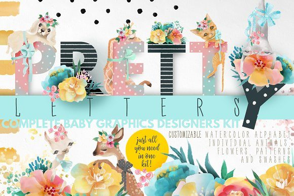 Print on Demand: Pretty Letters Graphic Illustrations By Anna Babich