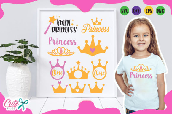 Princess Elements Svg Graphic Illustrations By Cute files