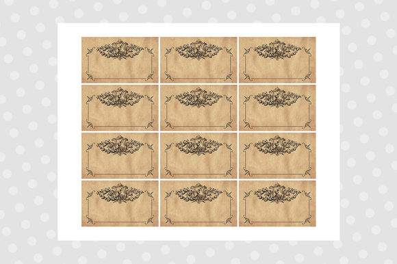 Printable Pantry Labels - Vintage Graphic Crafts By danieladoychinovashop - Image 7