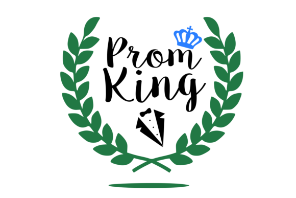 Print on Demand: Prom King SVG Graphic Crafts By Auntie Inappropriate Designs