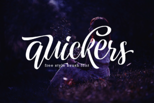 Quickers Display Font By Arterfak Project