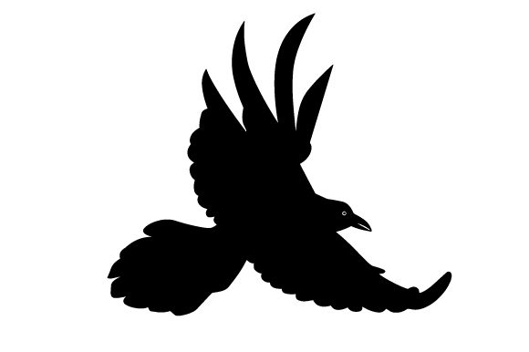 Download Free Raven Flying Svg Cut File By Creative Fabrica Crafts Creative for Cricut Explore, Silhouette and other cutting machines.