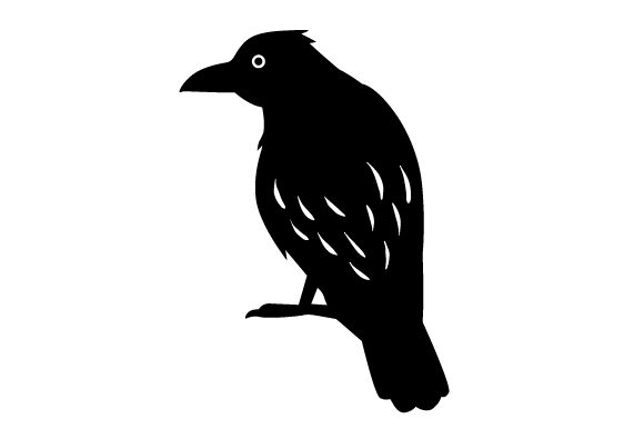 Download Free Raven Sitting Svg Cut File By Creative Fabrica Crafts Creative for Cricut Explore, Silhouette and other cutting machines.
