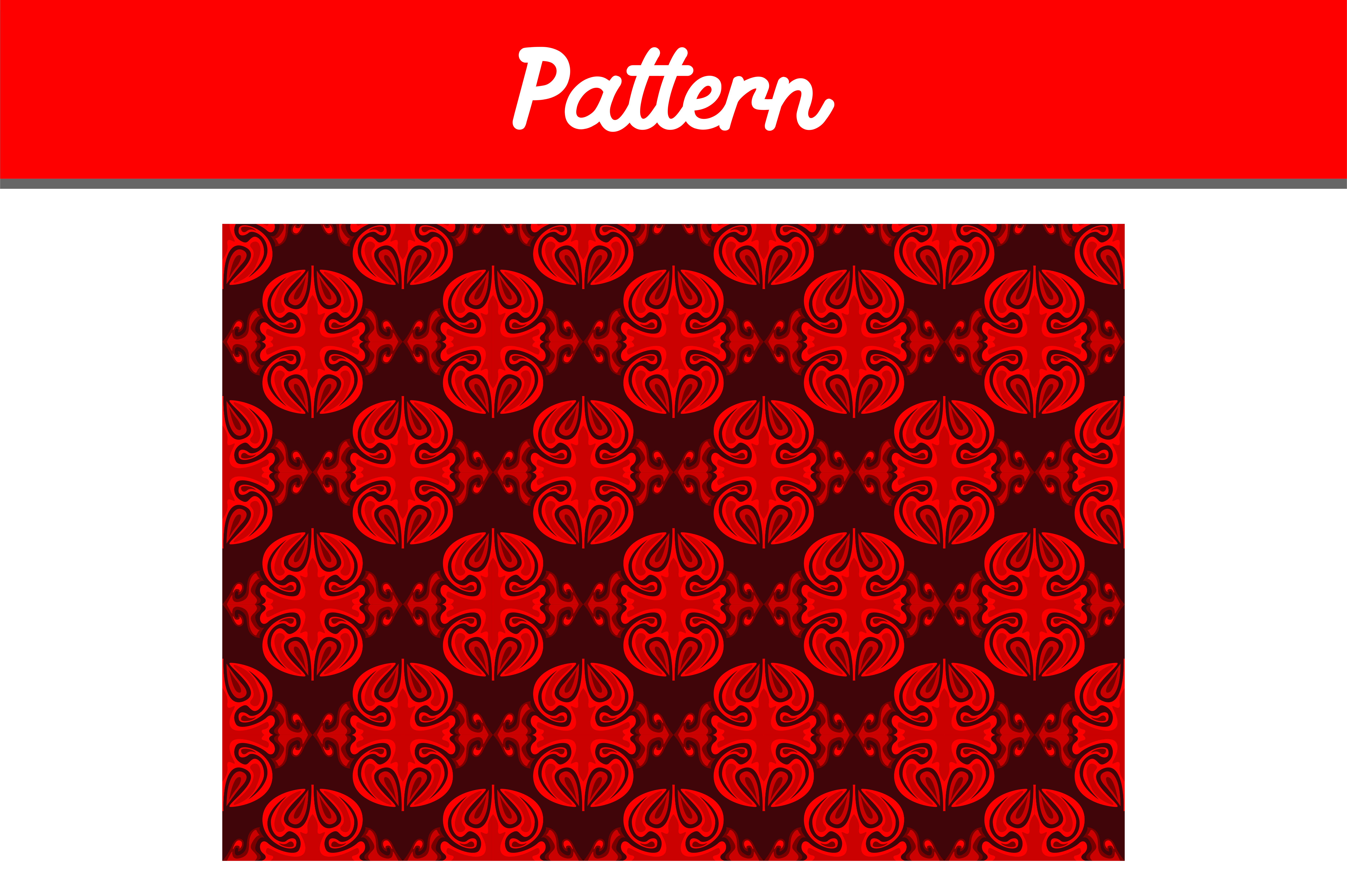 Download Free Red Background Ornament Pattern Graphic By Arief Sapta Adjie Ii for Cricut Explore, Silhouette and other cutting machines.