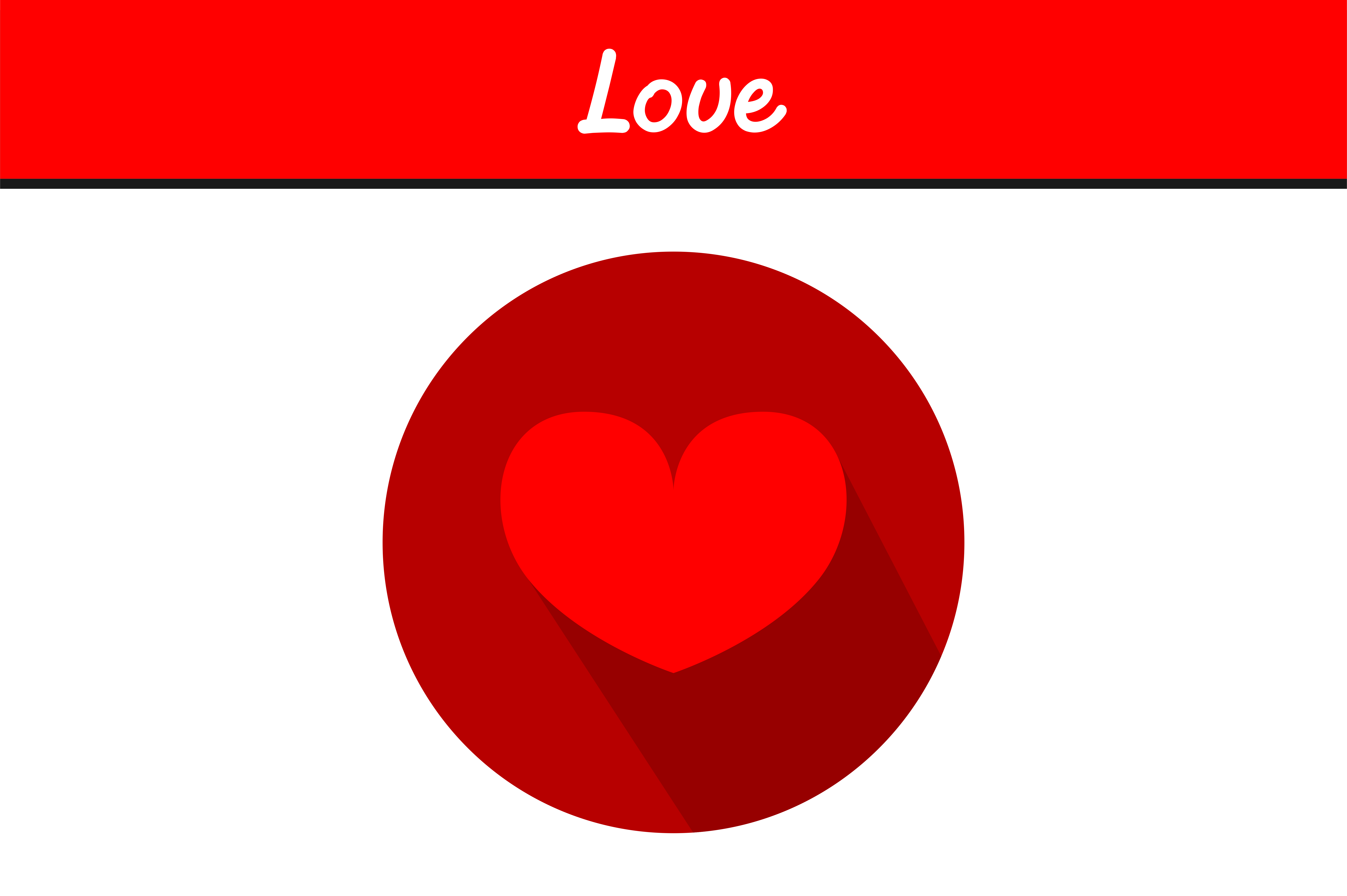 Download Free Red Love Graphic By Arief Sapta Adjie Creative Fabrica for Cricut Explore, Silhouette and other cutting machines.