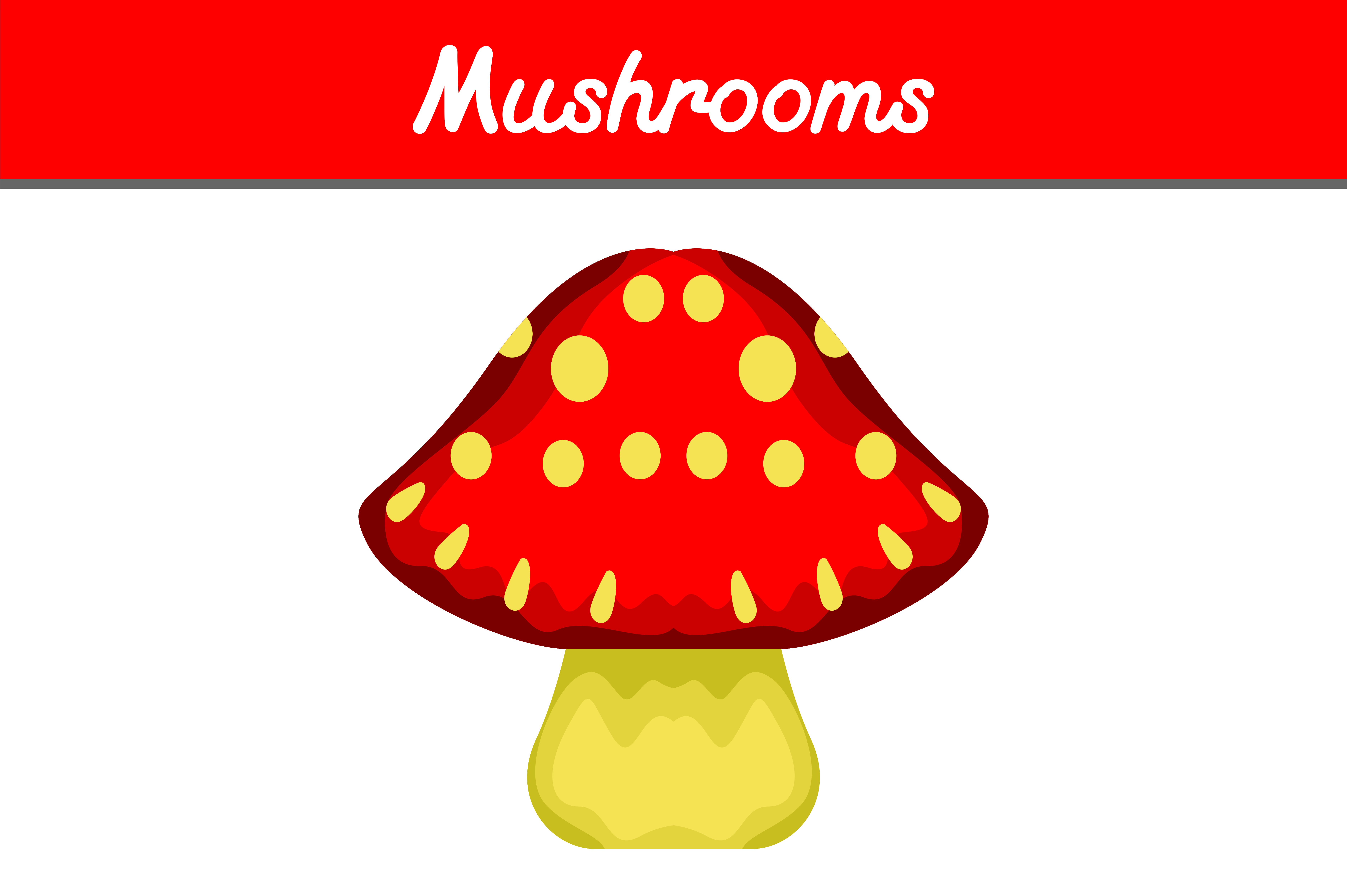 Download Free Red Mushroom Vector Graphic By Arief Sapta Adjie Ii Creative for Cricut Explore, Silhouette and other cutting machines.