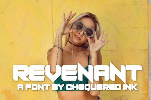 Revenant Display Font By Chequered Ink
