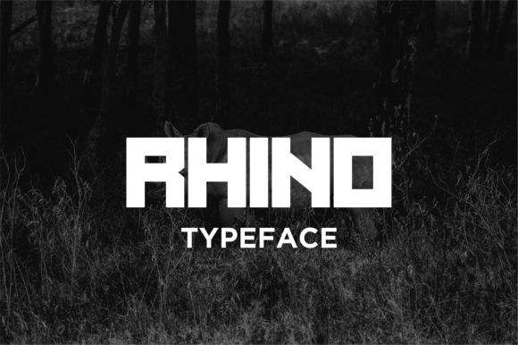 Rhino Font By Jimmy Indra Image 4