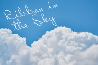 Ribbon in the Sky Font By Intellecta Design