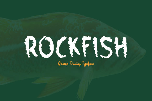 Print on Demand: Rockfish Display Font By Spanking Fonts - Image 1