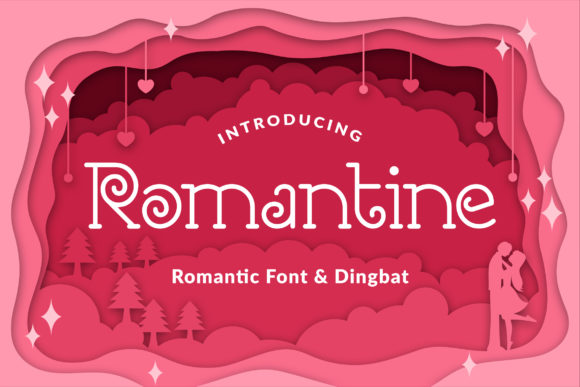 Print on Demand: Romantine Serif Font By Orenari
