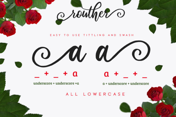 Routher Script Font By MLKWSN studio Image 4