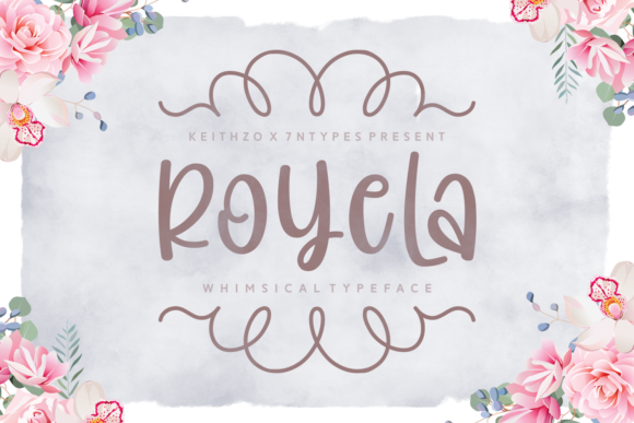 Print on Demand: Royela Script & Handwritten Font By Keithzo (7NTypes)