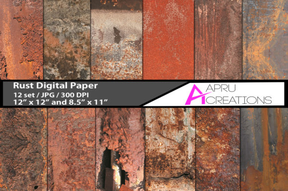 Rust Papers and Patterns Graphic By aparnastjp Image 1