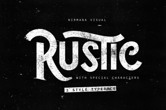 Print on Demand: Rustic Display Font By Sigit Dwipa