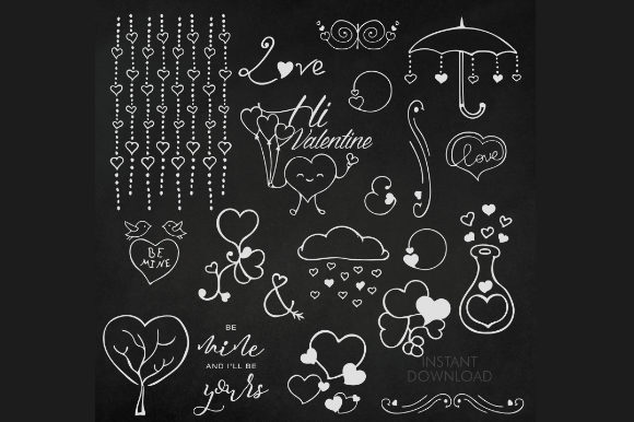 Print on Demand:  Heart Illustration Pack Graphic Illustrations By artsbynaty