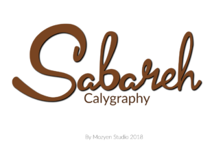 Print on Demand: Sabareh Script & Handwritten Font By mozyenstudio