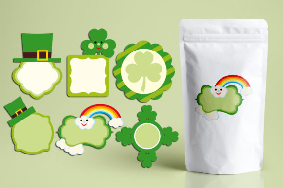 Print on Demand: Saint Patrick's Day Frames Graphic Illustrations By Revidevi