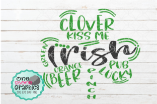 Saint Patricks Day Graphic Crafts By OneStoneGraphics