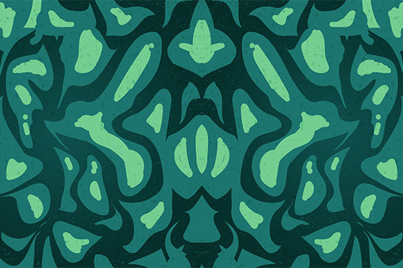 Print on Demand: Seamless Abstract Tribal Pattern Graphic Patterns By Kotak Kuning Studio