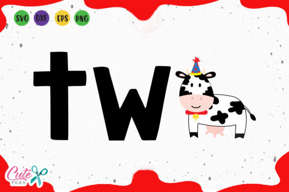 Download Free Second Birthday Cow Svg Graphic By Cute Files Creative Fabrica for Cricut Explore, Silhouette and other cutting machines.