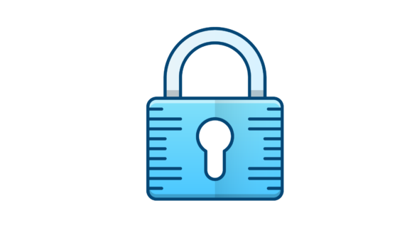 Download Free Security Padlock Icon Grafico Por Back1design1 Creative Fabrica for Cricut Explore, Silhouette and other cutting machines.