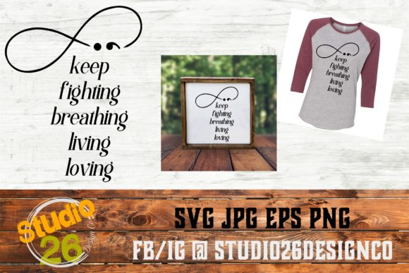 Download Free Semicolon Infinity Quote Graphic By Studio 26 Design Co for Cricut Explore, Silhouette and other cutting machines.