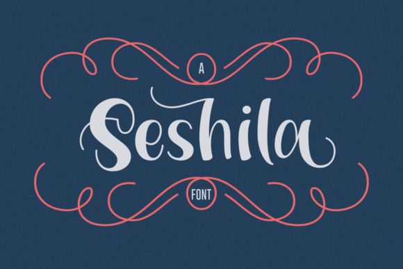 Print on Demand: Seshila Script & Handwritten Font By Rifki (7ntypes)