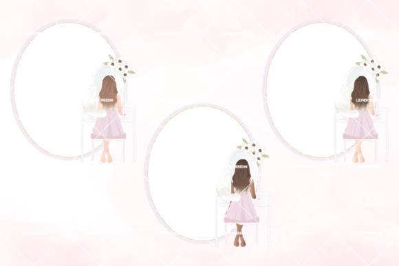 Download Free Shabby Chic Girl Room Clipart Grafik Von Lilyuri0205 Creative for Cricut Explore, Silhouette and other cutting machines.